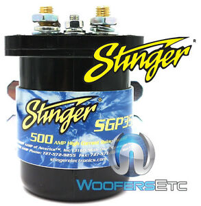 SGP35-STINGER-500-AMP-RELAY-BATTERY-ISOLATOR-for-CAR-AUDIO-AMPLIFIER-SYSTEM-NEW