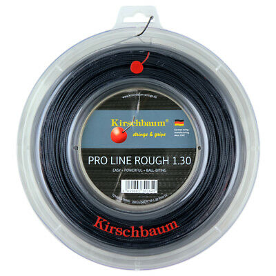 Kirschbaum Black Shark 16 1.30mm Tennis Strings 200M Reel