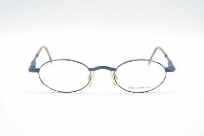 Ehrlich Vintage Marco Polo By Metzler 3455 414 44[]19 130 Blau Braun Oval Brille Nos