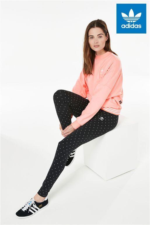 adidas Originals Farm Linear Toucan Print Blue Leggings Sizes (544 ... 72865b4886527
