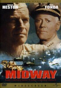 Midway-DVD-WS-2001-Collector-039-s-Edition-Charlton-Heston-Henry-Fonda-NEW