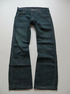 Wrangler-SHARKEY-Bootcut-Jeans-Hose-W-34-L-32-Indigo-X-Low-Denim-wie-NEU