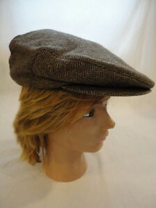 09d96a3f672ba Men s Vintage London Fog Cabbie Newsboy Gatsby Driver Cap Hat