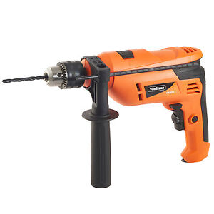 VonHaus-810W-Impact-Drill-Rotary-Hammer-Function-Auxiliary-Handle-9Pc-Kit-13mm