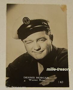 PHOTO-a-collectionner-Dennis-MORGAN-issue-du-paquet-STAR-Gum-CHEWING-GUM