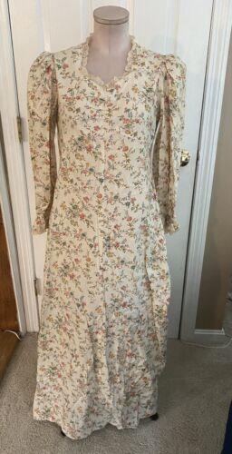 Vintage Gunne Sax Style Prairie Boho Maxi Dress 8 - image 1