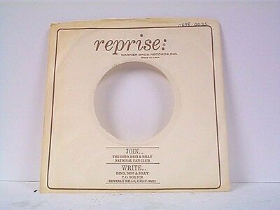 Reprise Logical 1 dino Desi & Billy Record Company 45's Sleeves Lot # 32-m Relieving Heat And Sunstroke