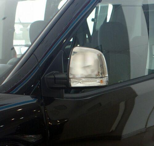 Fiat Doblo 2010Up Rétroviseur Chrome Housse 2Pcs S Steel