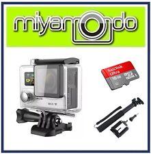 Eken H8R Action Camera 4K Ultra HD WiFi (Silver) + Monopod + Ultra microSD 16GB