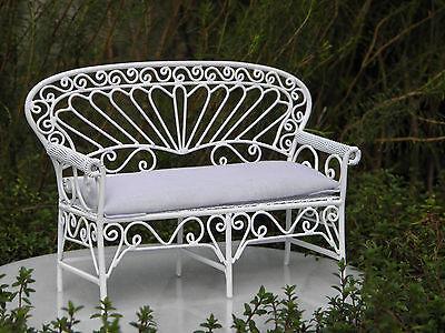 Fairy Garden Furniture White Wire