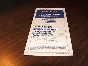 JUNE-1971-AMTRAK-PENN-CENTRAL-FORM-12-NYP-NWK-TRE-PHL-SERVICE-PUBLIC-TIMETABLE
