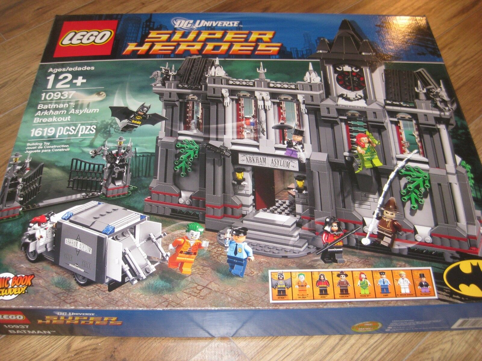 LEGO läderlappen  Arkham Asylum Breakout 10937 NISB