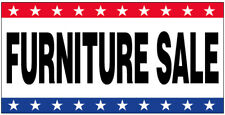 20x48 Inch Furniture Sale Vinyl Banner Sign New Usa Wb