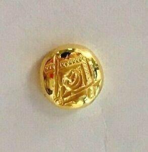 2 5g Gold 9999 Freemason Hand Poured
