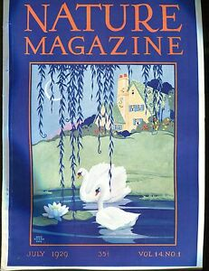 Nature-Magazine-July-1929-Geese-VG-No-ML-020617jhe