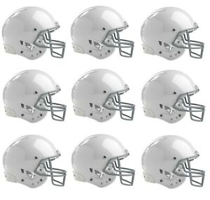 8082dec339fd Rawlings NRG Impulse Football Helmet Youth Medium White Facemask Faceguard