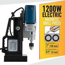 1200w Heavy Duty Magnetic Drill Press Lightweight 09 Bore 2900lbf