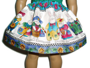 Easter-Bunny-Skirt-fits-American-Girl-dolls-18-034-Doll-Clothes