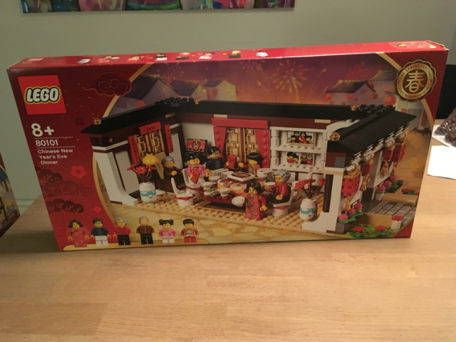 Lego andet, 80101, 80101 Chinese New Year's Eve Dinner ny…