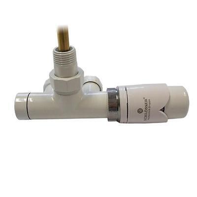 Lanzenventil Edelarmatur für Badheizkörper 90°