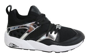 Puma Blaze Of Glory metallico Sneaker Uomo Lacci Nero Bronzo 361851 04 m3