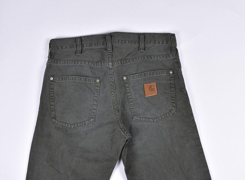 Carhartt Schmal Herren Hose Jeans Größe 31 34  | Internationale Wahl  | Bestellung willkommen  | Lebensecht