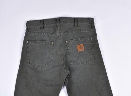 34 Uomo Carhartt Pantaloni Taglia Slim 31 Jeans w6Y0Y5Aqx