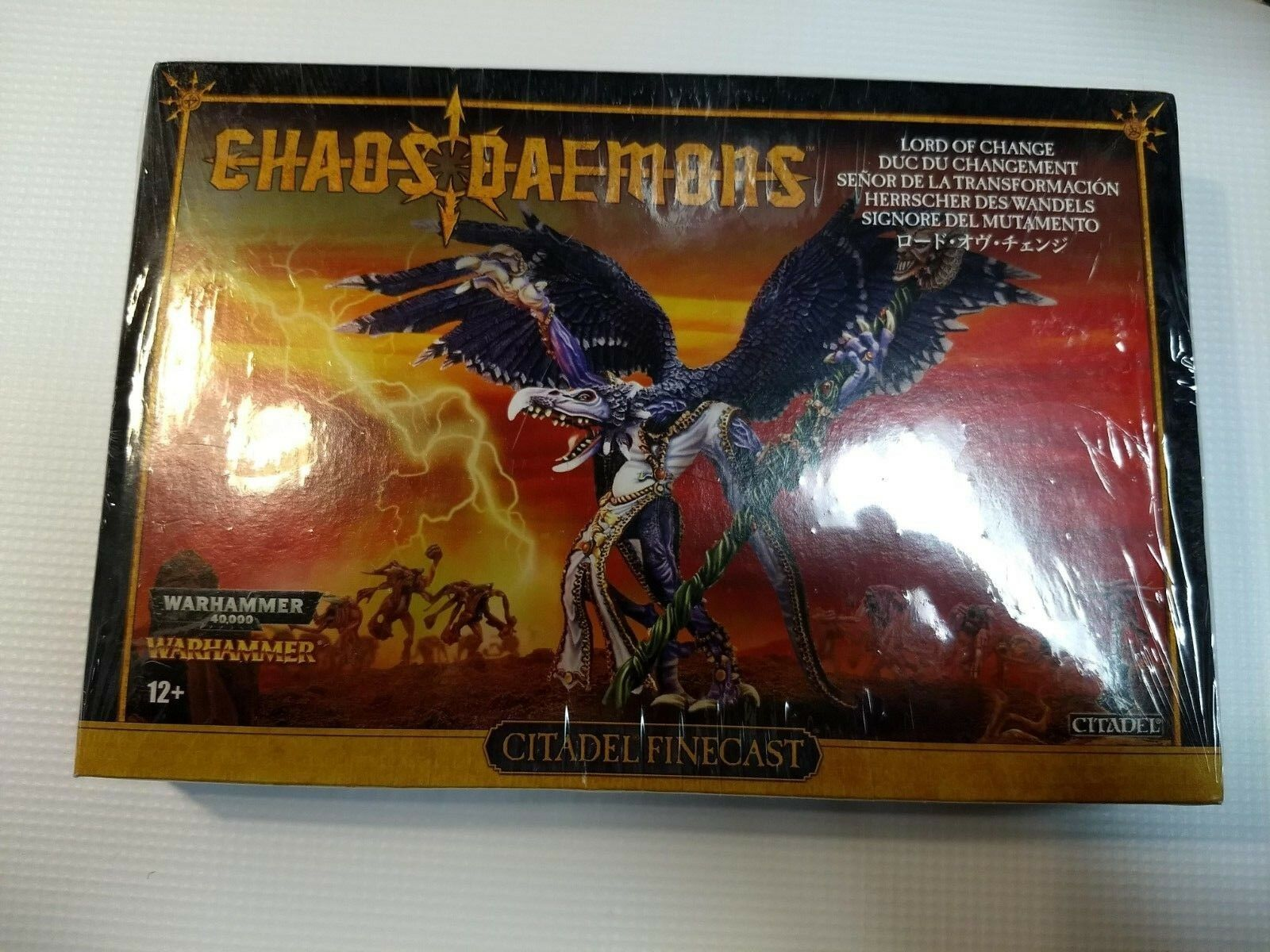Warhammer Chaos Daemons Lord of Change Finecast Games Workshop