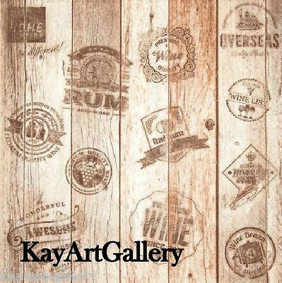 4 x Single Vintage Table PAPER NAPKINS / WINE / DECOUPAGE / CRAFT /  PARTY