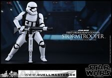 STAR WARS SIDESHOW HOT TOYS - FIRST ORDER HEAVY GUNNER STORMTROOPER  - NEU/OVP