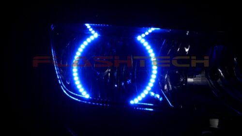 Chevrolet Camaro 14-16 CHS Bright Blue LED Headlight Halo Ring Kit