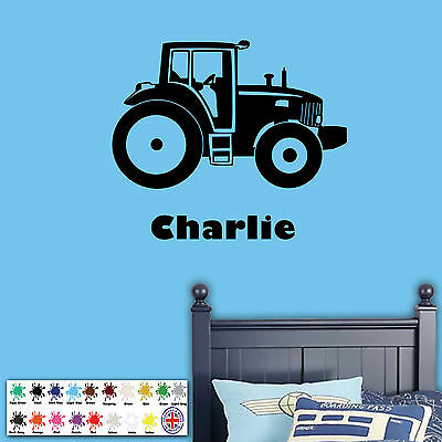 Any Colour Childs Bedroom Any Name Large 100cm x 50cm, Light Grey Personalised Hearts Wall Sticker