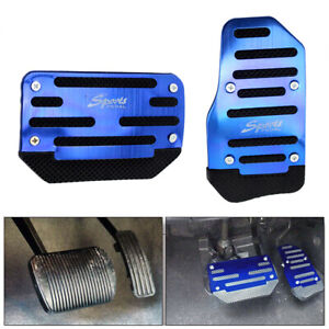 Universal-Automatic-Car-Gas-Brake-Accelerator-Foot-Pedal-Non-Slip-Pad-Cover-Blue