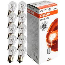 10 Stück Glühlampe OSRAM 12V 21W BA15s
