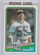 Brian Bosworth RC 1988 Topps VINTAGE ROOKIE CARD Football THE BOZ Sooner Seahawk