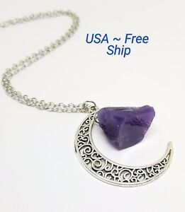 Silver Electroplated Pendant Purple Druzy Pendant Agate Geode Pendant