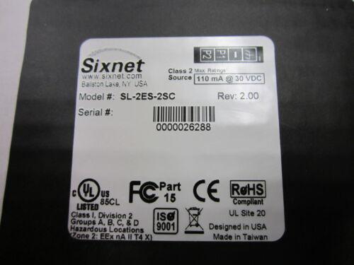 SIXNET SL-2ES-2SC  REV 2.00   SL2ES2SC