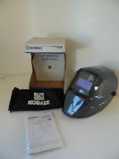 Kobalt Welder Helmet Auto Darkening Welding Hood Bag Lens Sweatband Box