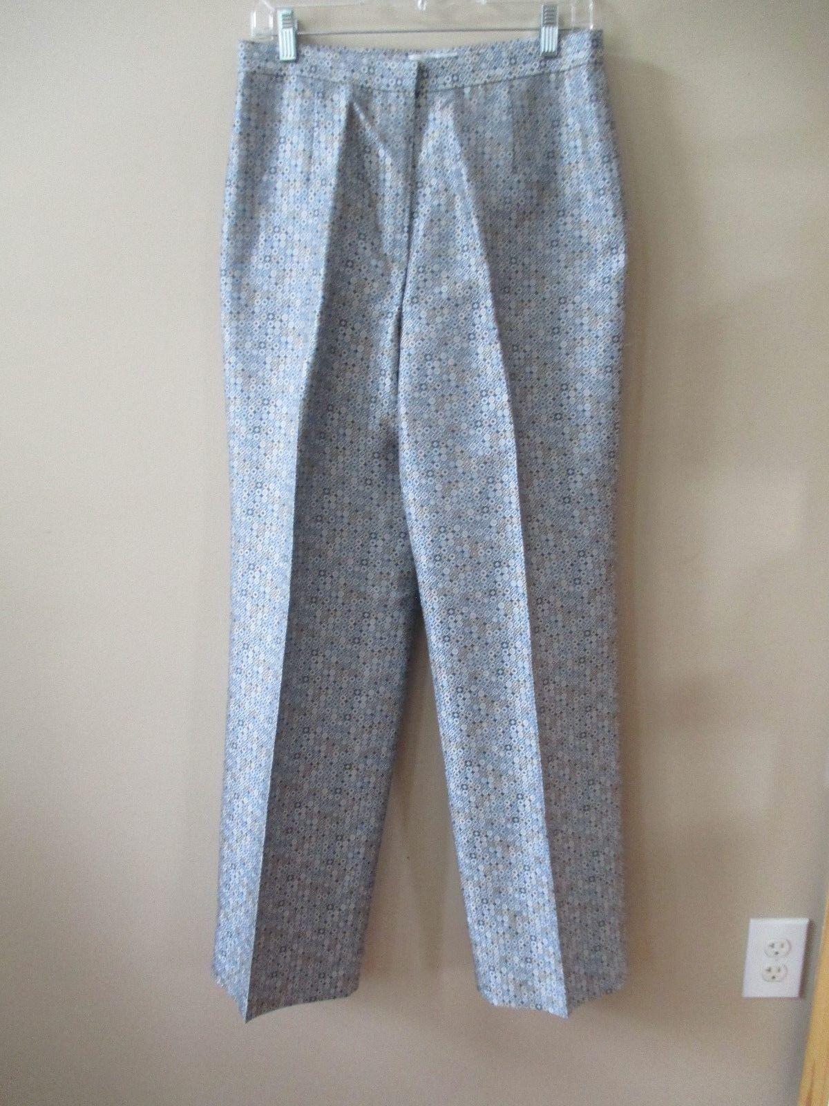 Talbots Pure Silk Womens 10 Pants
