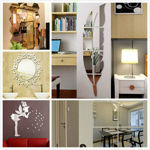New-DIY-Home-Modern-3D-Mirror-Wall-Clock-Love-Sticker-Home-Living-Room-Decor-Hot