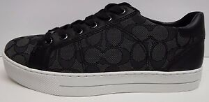 Coach-Size-8-5-Black-Sneakers-New-Womens-Shoes
