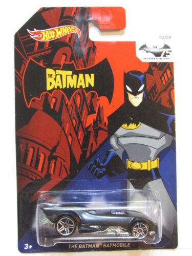 Hot Wheels Batman 2014 The Batman Batmóvil #03//08