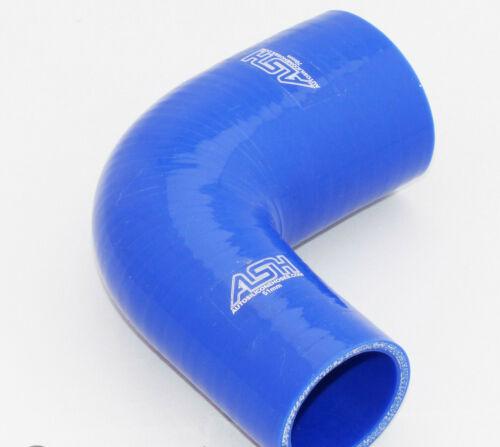 90 degrés 90 ° reduzierbogen réduction coude 32mm /> 25mm silicone tuyau-rouge