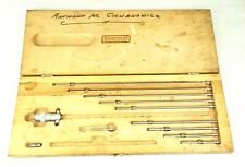 Starrett Inside Diameter Micrometer No 124 With Case