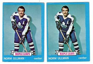1X-NORM-ULLMAN-1973-74-Topps-148-EX-Lots-Available-Maple-Leafs