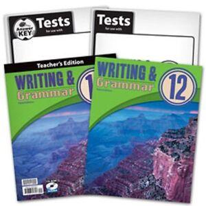 bju writing and grammar 12