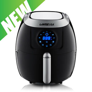 GoWISE USA 4th Generation XL Electric Air Fryer w/ Touch