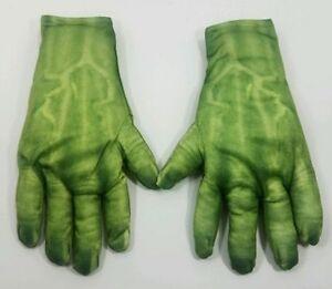 Boys-Halloween-Incrediable-Hulk-Green-Gloves-Costume-Child-Marvel-Avengers