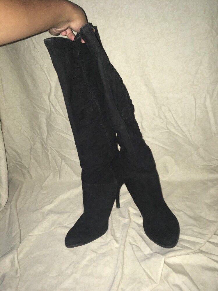 ENZO Angiolini la rodilla botas altas para mujer M
