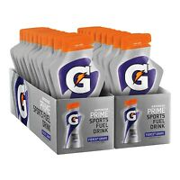 Gatorade Prime Sports Fuel Drink Fierce Grape 4 Ounce Pouches (pack Of 20)